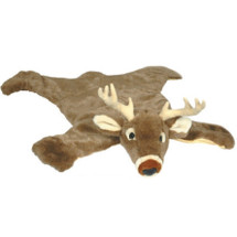 White Tail Deer Large Plush Rug | Carstens
