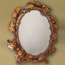 Acorn Mirror | Manual Woodworkers | RMKLAM