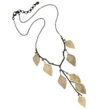 Autumn Birch Y Pendant Necklace | Michael Michaud Jewelry | 9058GMG
