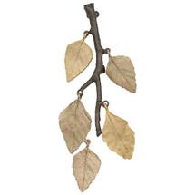 Autumn Birch Leaf Pin | Michael Michaud Jewelry | 5837GMG