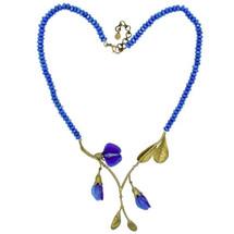 False Indigo Statement Necklace | Michael Michaud Jewelry | 9030BZBJ