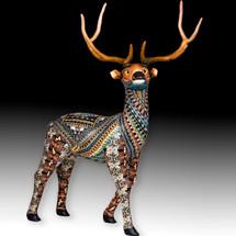 Elk Baby Figurine | FimoCreations | FELKB
