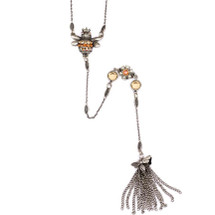 Bee Y Necklace  | La Contessa Jewelry | Mary DeMarco | NK1BEELCC