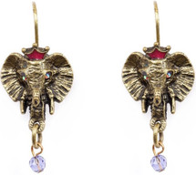Elephant Head Earrings  | La Contessa Jewelry | Mary DeMarco | ER9403