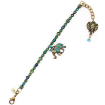 Elephant Charm Bracelet  | La Contessa Jewelry | Mary DeMarco | BR9401