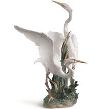 Herons Porcelain Figurine | Lladro