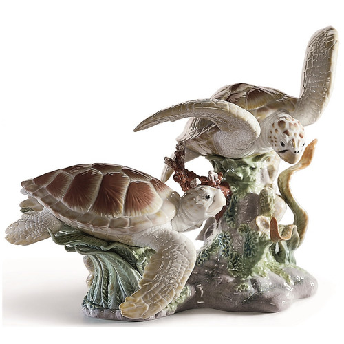 Sea Turtles Porcelain ...