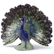 Peacock Porcelain Figurine | Lladro | 1008777