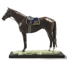 "Horse Porcelain Figurine ""Deep Impact"" | Lladro | 1009184"