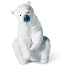 Resting Polar Bear Porcelain Figurine   Lladro   LLA01001208