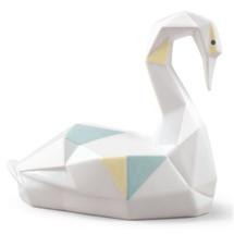 Origami Swan Porcelain Figurine | Lladro | LLA01009263
