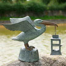 Pelican Candle Holder Lantern | 33554 | SPI Home