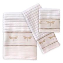 Dragonfly Towel Set | Creative Bath | CBTJ754BHW