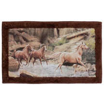 Horse Canyon Bath Rug | R1093MULT | Creative Bath