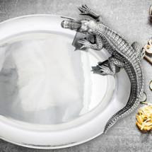 Alligator Oval Platter | Arthur Court Designs | 111J11-1