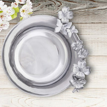 Dogwood and Butterfly Bowl | Arthur Court Designs | 113D11-1
