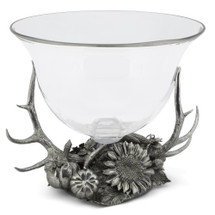 Antler Harvest Glass Ice Tub | Vagabond House | H419HV-1