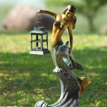 Mermaid Lantern | 33693 | SPI Home -2