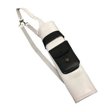 Summit White Leather Back Quiver