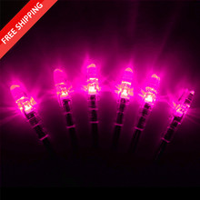 6 Lighted S Nocks - PINK