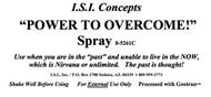 Power to Overcome!  Spray 8 oz