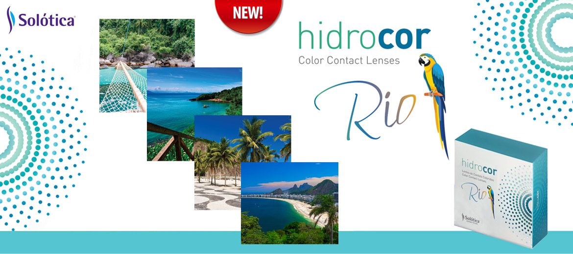 Solotica Hidrocor Rio contact lenses