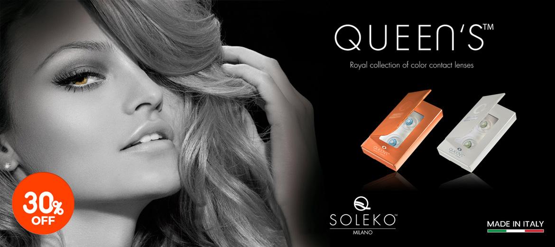 Soleko Queens contact lenses