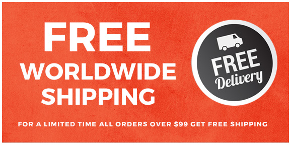 Free shipping for all orders over $99!