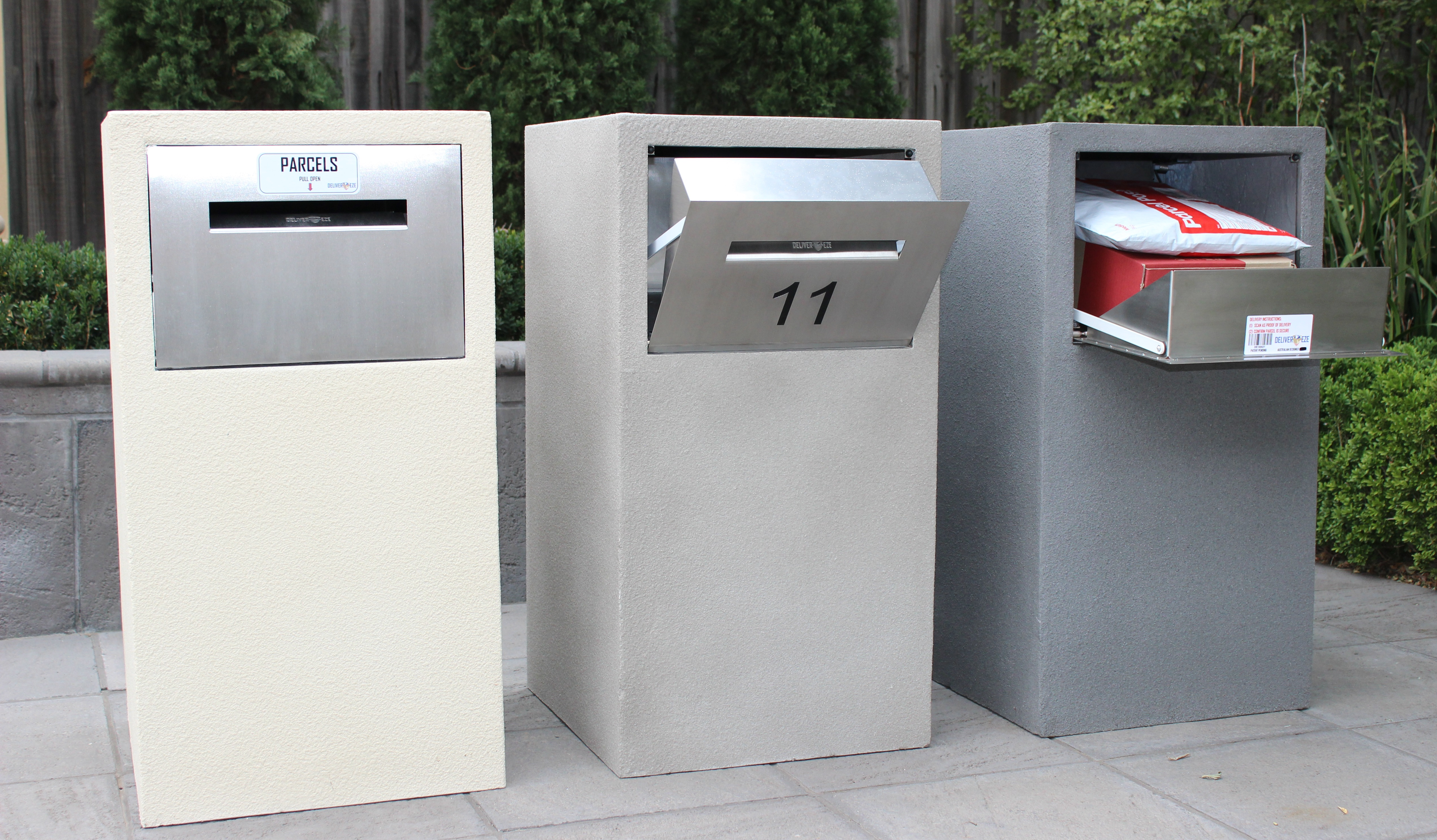 All New Mosman Stainless Steel Parcel Letterbox