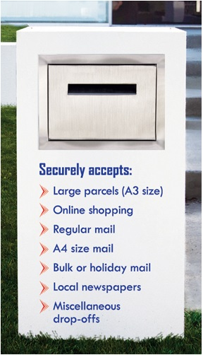 Stainless steel letterbox parcel box.jpg