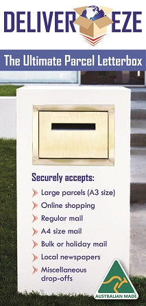 stainless steel parcel letterbox accepts large parcels and A4 mail.jpg