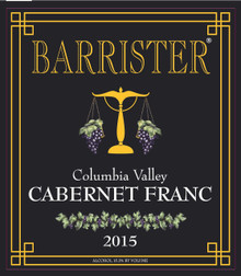 2015 Cabernet Franc, Columbia Valley