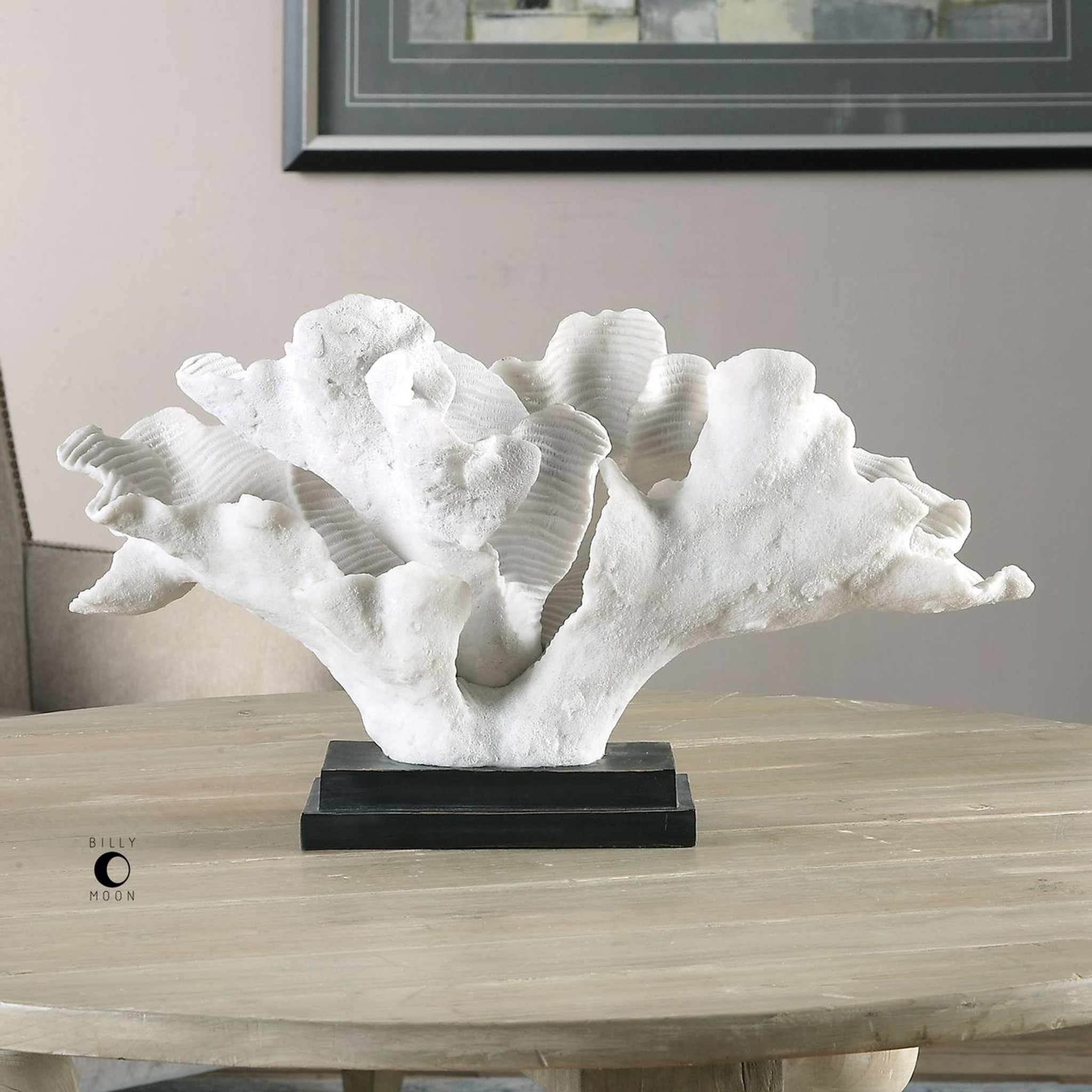 Blade Coral Statue