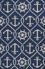 Navy Blue Marina Area Rug