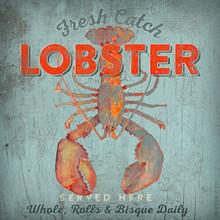 Fresh Catch Lobster Art