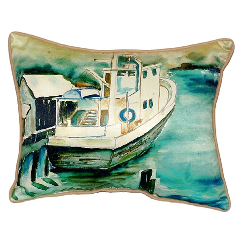 Oyster Boat Pillow