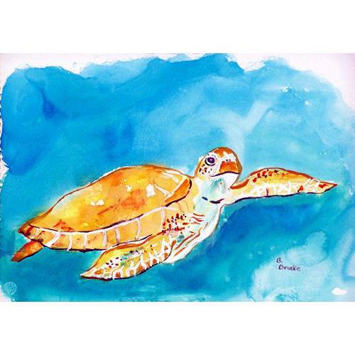 Under the Sea Turtle Floor Mat