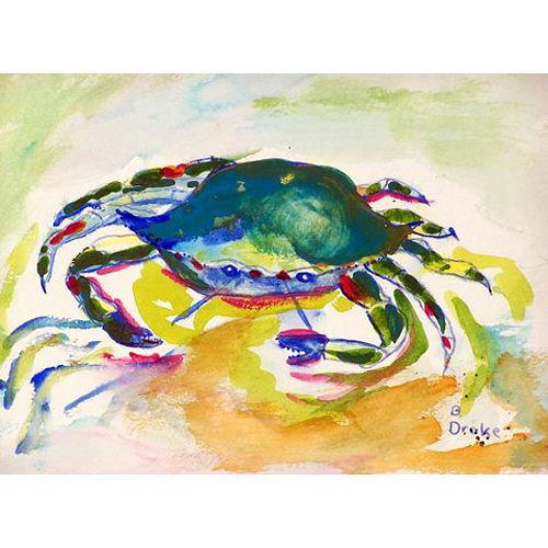 Green Crab Floor Mat