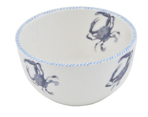 Blue Crab Dessert Bowls - Set of 6