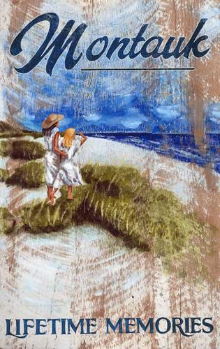 Coastal Lifetime Memories Art Sign
