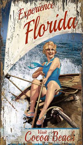 Experience Florida Vintage Art - Custom