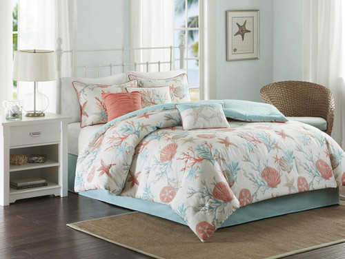 Pebble Beach Comforter Set - Queen Size