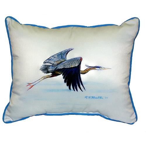 Eddie's Blue Heron Indoor-Outdoor Pillow