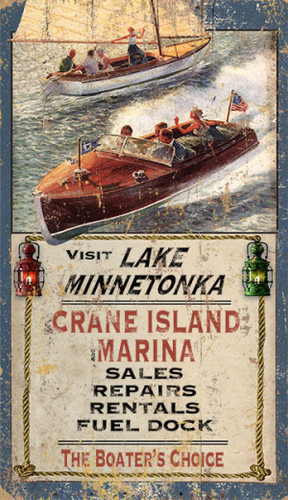Visit Lake Minnetonka Sign - Custom