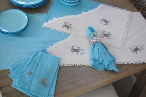 Blue Crab Sprint Table Runner