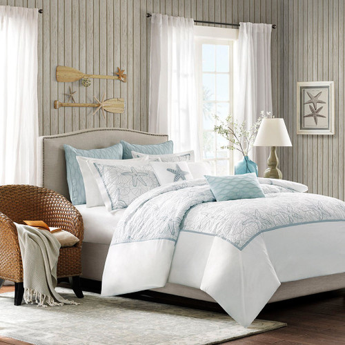 Chesapeake Bay Duvet Cover Set - Queen Size