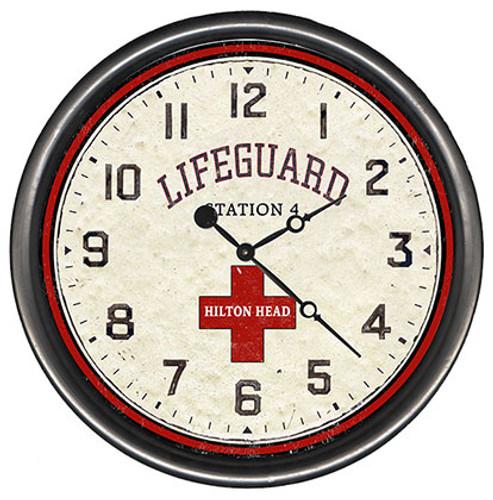 Beach Lifeguard Clock - Custom