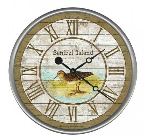 Sandpiper Beach House Clock - Custom