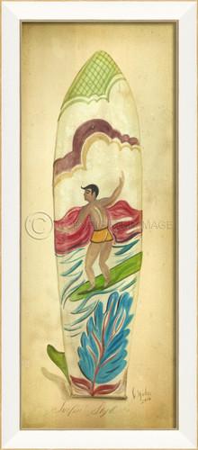 Surfin' Style Surfboard Art