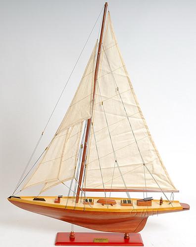 Shamrock Mid Sailboat Model